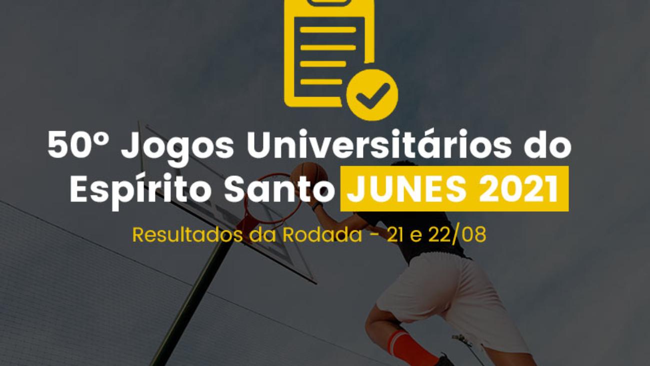 JUNES 2021 - Tabela de Resultados 21 e 22/08