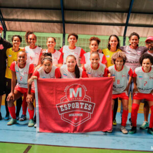 Junes 2021 Campeão Futsal feminino